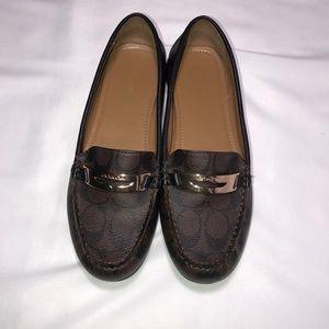 EUC Coach flats/loafers